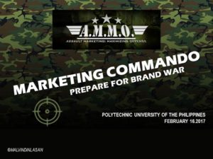 MARKETING COMMANDO_PUPMarketingTalk_2017
